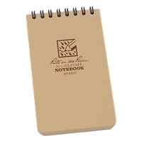 Rite-In-the-Rain Spiral Top Notebook